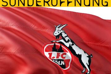 Sonderöffnung für Köln-Fans